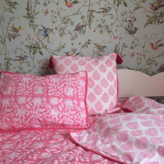Parure de lit enfant housse de couette | Linge de lit | Pour enfant, ado et adulte single | 140 x 200 cm | VILLA D'ISSI