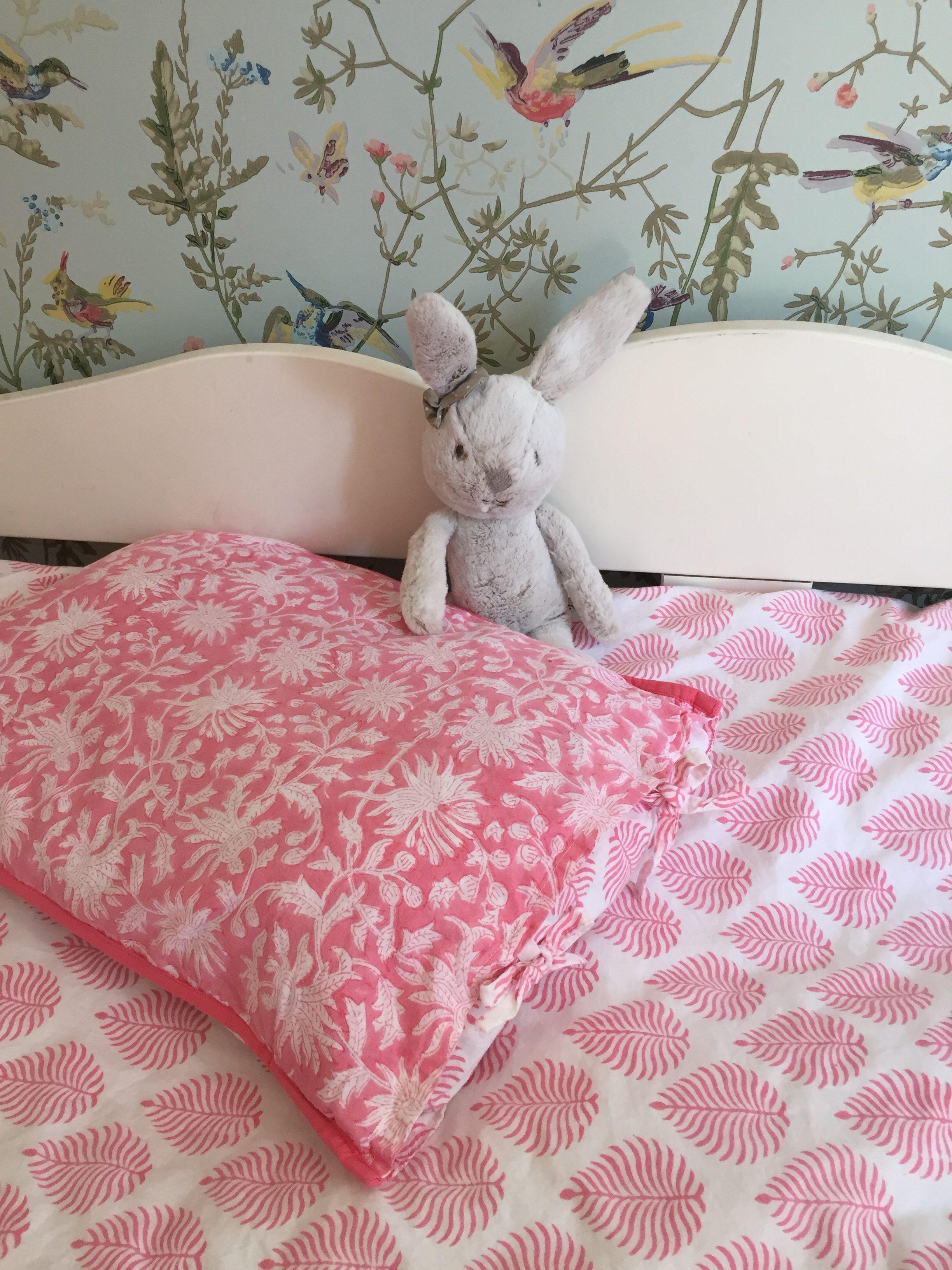 linge de lit enfant ado taie d 39 oreiller coton imprim la. Black Bedroom Furniture Sets. Home Design Ideas