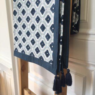 Nappe Linge de Table Linge de Maison 150 x 310 cm COASTAL de VILLA D'ISSI