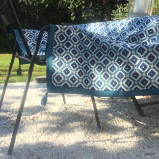 Nappe Linge de Maison Linge de table 150 x 310 cm HAMPTONS de VILLA D'ISSI