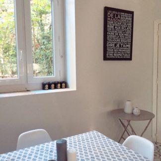 Linge de maison coloré et raffiné VILLA D'ISSI -linge de table bohème chic